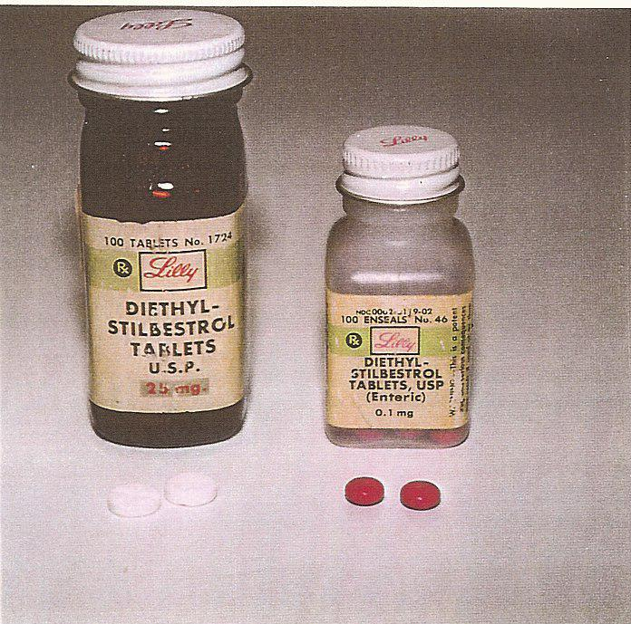 DES pills that were given to pregnant women.